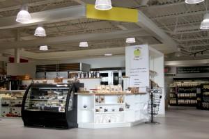 Kiosque Créations sucrées - concept d'aménagement commercial - Clo Design