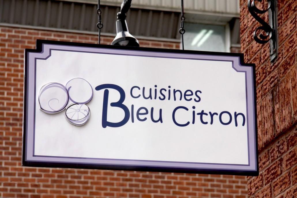 Clo Design - affiche Bleu Citron